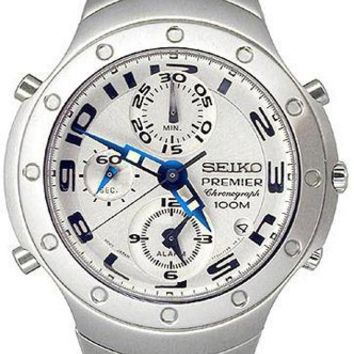 Seiko SDWG45 Men's Premier Chronograph Alarm 100M Watch