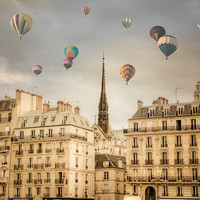 Balloons over Paris