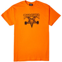 Thrasher Skate Goat Orange T-shirt