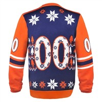 Jersey Design Ugly Sweater Denver Broncos