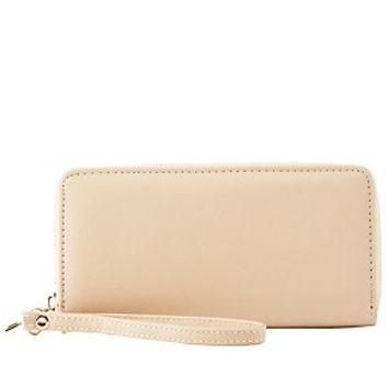 ZIPPED WRISTLET WALLET