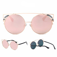 Over-sized Cat Eye Sunglasses