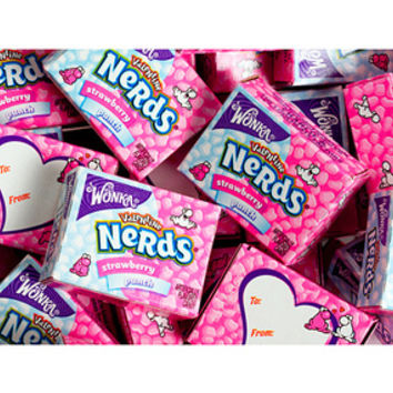 Wonka Pink & White Nerds Candy Packs: 35-Piece Bag