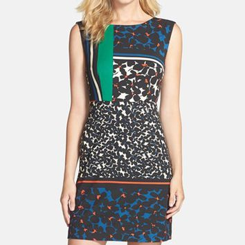 Women's Plenty by Tracy Reese Print Ponte Sheath Dress,
