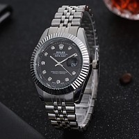 Perfect Rolex Men Fashion Quartz Watches Wrist Watch
