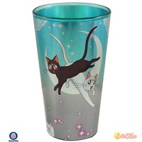 16oz OFFICIAL Sailor Moon PREMIUM Luna and Artemis Pint Glass GIFT