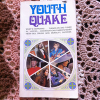 YOUTHQUAKE 1968 Book * Hippies Sex Drugs God *