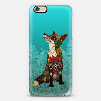 ice floral fox iPhone 6s case by Sharon Turner | Casetify