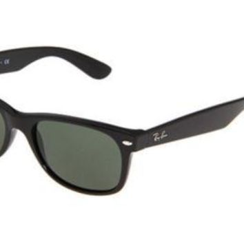 Cheap Authentic Black Polarized Ray-Ban New Wayfarer 55mm outlet