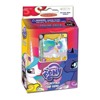 My Little Pony Canterlot Nights Collectible Card Game Princess Celestia Theme Deck