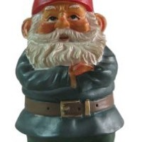 "Impatient Garden Gnome 10"", Red Hat"