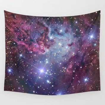 Galaxy Nebula Tapestry Polyester Wall Art