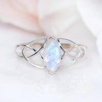 Moonstone Ring - Prism Light