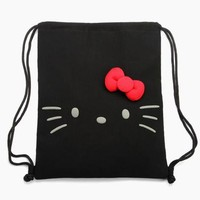 Hello Kitty Draw-String Bag: Big Face