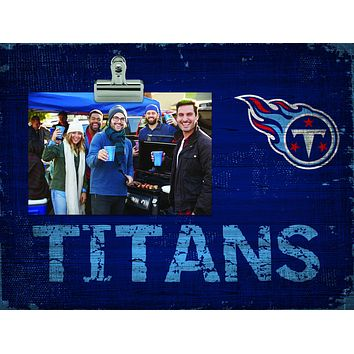 Tennessee Titans Clip Frame