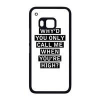 Personalised AM song lyrics HTC One M9 Case
