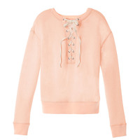 Boxy Pullover - French Terry - Victoria's Secret