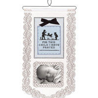 For This Boy Wall Hanging, White