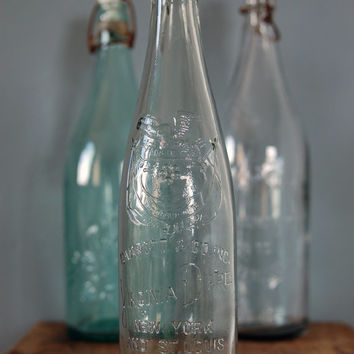 Vintage Embossed 14-Ounce Virginia Dare Wine Bottle