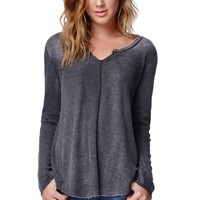 O'Neill Gordon Top - Womens Tee - Grey