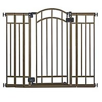 HOMESAFE™ by Summer Infant® Multi-Use Deco Extra Tall Walk-Thru Gate in Bronze