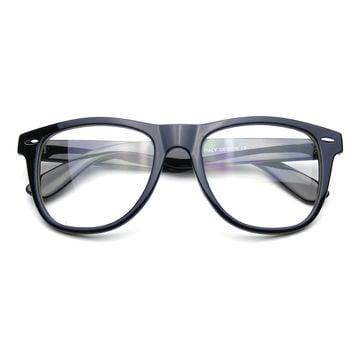Nerd Black Wayfarer Glasses Clear Lens Clear Wayfarer Sunglasses