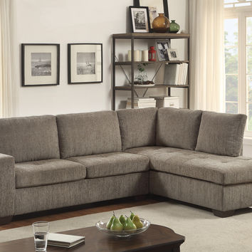 Calby Lane 2Pcs Sectional Sofa with Full Size Sleeper 8433