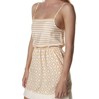 HURLEY SHORTLIST DRESS - TANGO