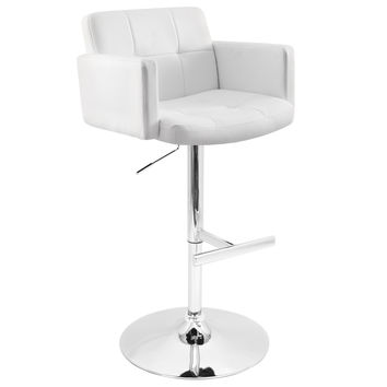 Stout Bar Stool White