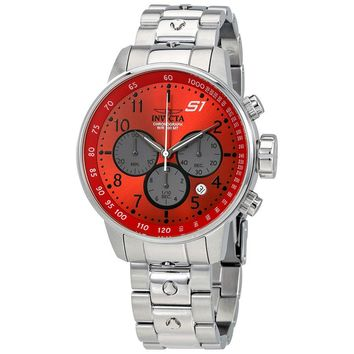 Invicta S1 Rally Chronpgraph Red Dial Mens Watch 23086