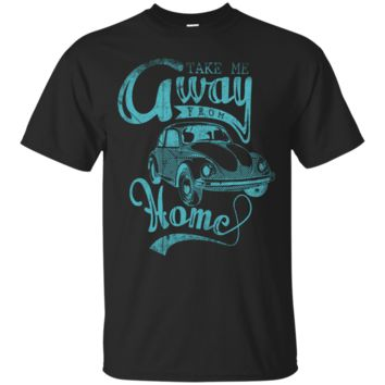 Volkswagen Bug Take me away Men's or Ladies Tee Shirt