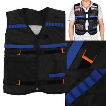 Children Tactical Vest Black Outdoor Game Training CS GO Paintball Airsoftsports Costumes Nylon Kids Boys Girls Military Vest