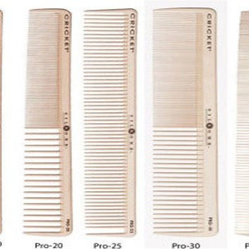 Barbers and Stylists Silkomb Professional Comb Set