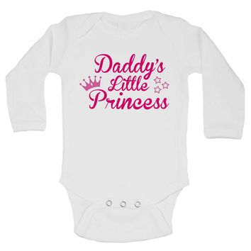 Daddy's Little Princess Funny Kids Onesuit