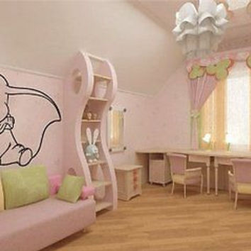 Dumbo Disney Kids Nursery Wall Art Sticker Decal d-145