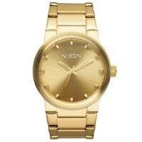 Nixon A160502 Men's The Cannon Gold Dial Yellow Gold Plated Steel Bracelet Watch