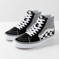 Vans Sk8-Hi Mix Checkerboard Sneaker | Urban Outfitters