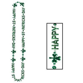 "Beistle 30596 36"" Happy St. Patrick's Day Beads"