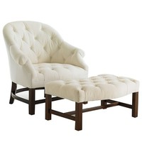 Bunny Williams Home T42 Chair & Ottoman