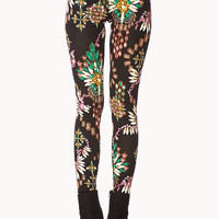 Ornate Bejeweled Leggings