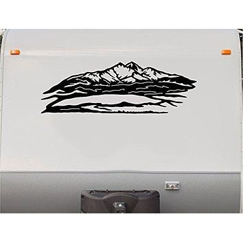 Mountains Scenic Stripes Motor Home Stripe Kit- RV Stickers - Camper Vinyl Decal- Sticker - Motor Home Decals