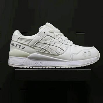 ASICS GEL LYTE Fashion Casual Running Shoes Sports Shoes White I-XYXY-FTQ
