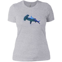 watercolour hammerhead shark sweatshirt T-Shirt