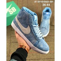 NIKE WMNS SB BLAZER ZOOM LOW Trendy air cushion high top sports shoes #1