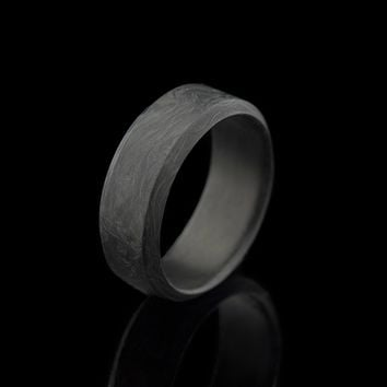 Carbon Wide Ring