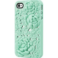 Unique Design Rose Embossing Case for iPhone 4/4S  - Other
