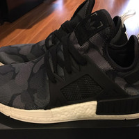 Adidas NMD XR1 Duck Camo Camouflage Women Fashion Trending Running Sports Shoes