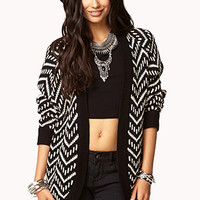 Open Zigzag Cardigan | FOREVER 21 - 2019572854