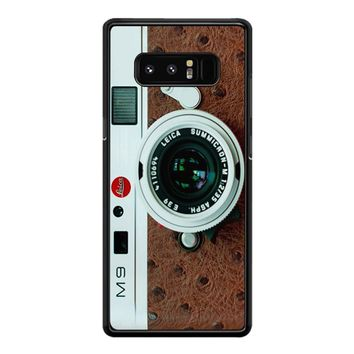 Vintage Classic Retro White Samsung Galaxy Note 8 Case