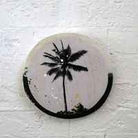 SINGLE PALM PORTHOLE | ART | AHOY TRADER